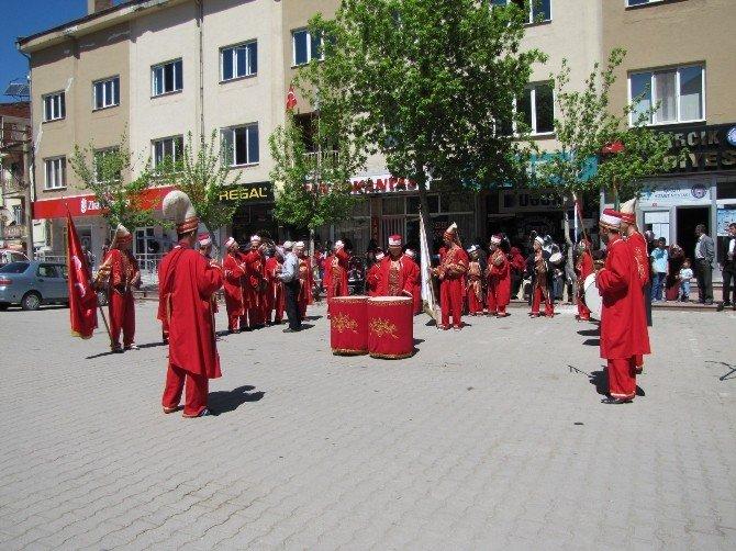 Hisarcık'ta 750 Kişiye Kutlu Doğum Pilavı Dağıtıldı