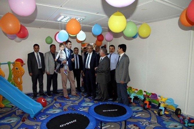 Harran Üniversitesinde 2'nci Çocuk Kampüsü Açıldı