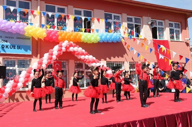 İncesu'da 23 Nisan Coşkusu