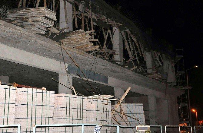 Belediye Binası İnşaatında Göçük Meydana Geldi