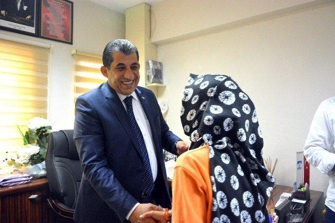 Ceylanpınar Belediye Başkanı Koltuğunu Çocuklara Emanet Etti