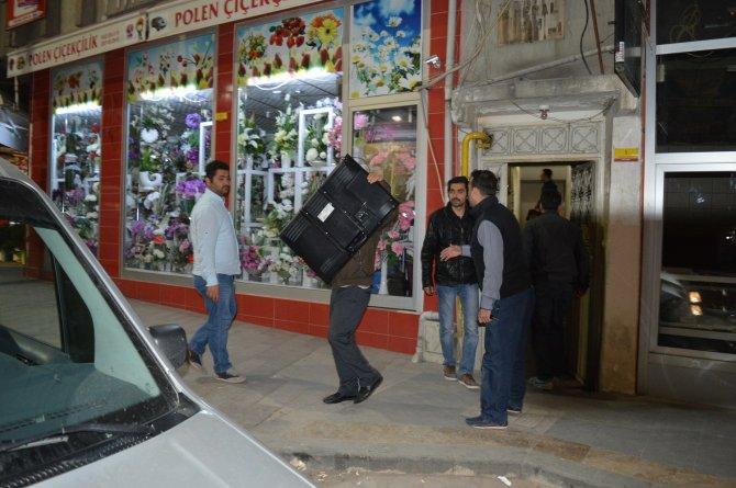 Malatya'da iş yerine kumar baskını