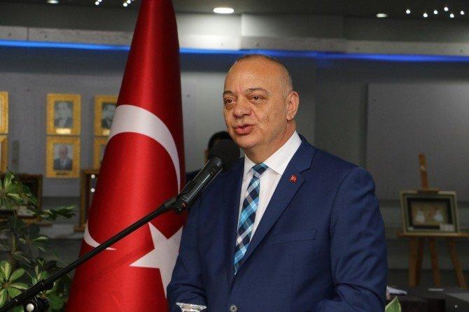 Başkan Ergün Yabancı Konuklarını Ağırladı