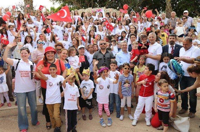 Mezitli'de 23 Nisan Coşkuyla Kutlandı