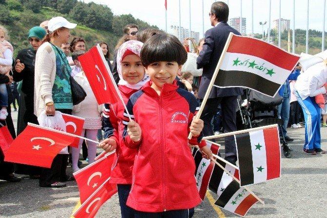 23 Nisan Kutlamasına Özel Öğrencilerin Gösterisi Damga Vurdu