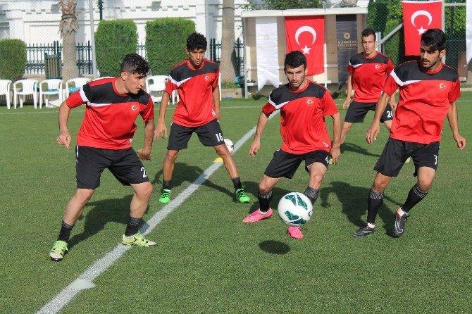 İşitme Engelliler Dünya Şampiyonası'na Manavgat'ta Hazırlanıyor