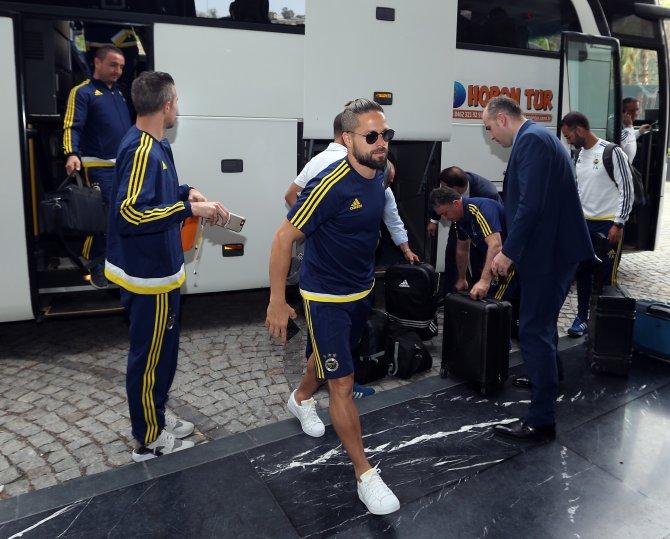 Fenerbahçe kafilesi Trabzon'a geldi