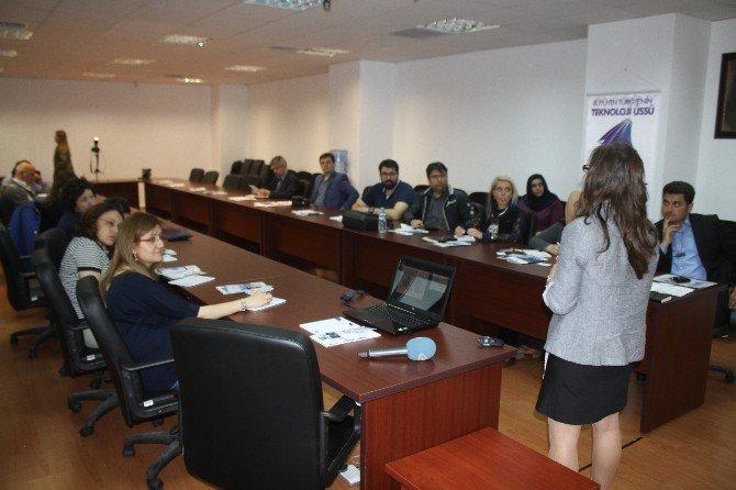 Erciyes Teknopark'ta 'Katip Çelebi Newton Fonu' Bilgilendirme Semineri Düzenlendi