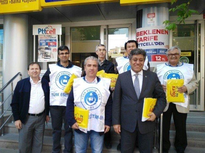 Türk Eğitim-sen'in Ek Gösterge İmza Kampanyası