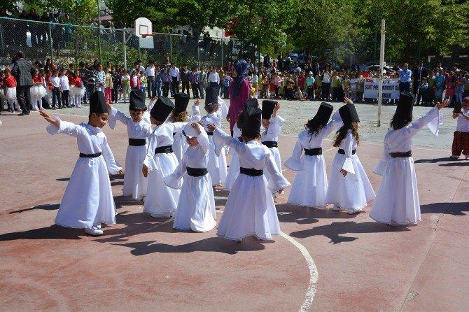 Tut İlçesinde 23 Nisan Ulusal Egemenlik Ve Çocuk Bayramı Kutlandı