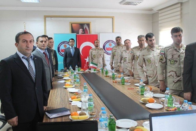 Türkiye İle İran Arasındaki Nisan Ayı Mutad Toplantısı Gerçekleştirildi