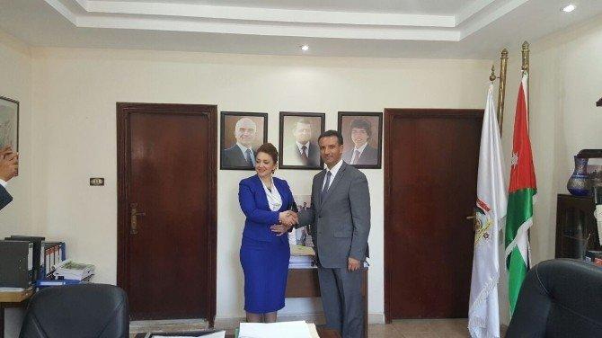 Ürdün Turizm Bakanı, Başkan Emine Atasoy'u Kabul Etti