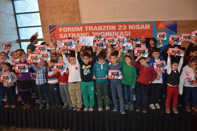 23 Nisan, Forum Trabzon'da Coşkuyla Kutlandı