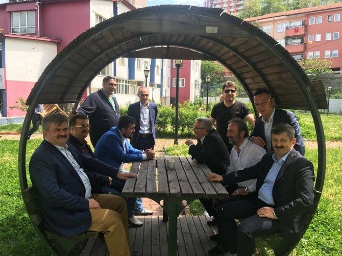 Çaturoğlu'ndan Kömürspor'a Moral Ziyareti