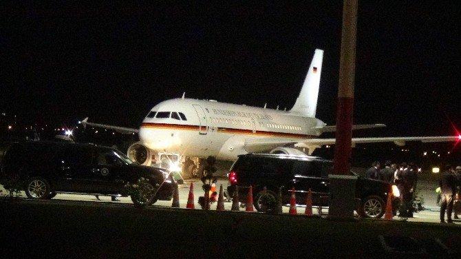 Almanya Başbakanı Merkel Gaziantep'ten Ayrıldı