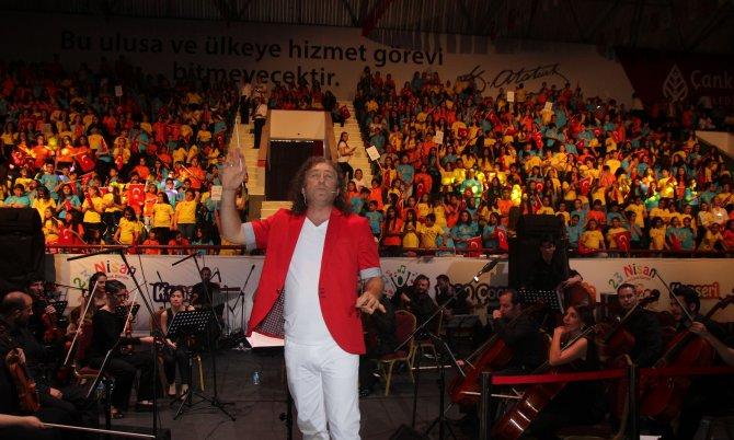 Çankaya 1000 Çocuk Korosu, 23 Nisan konseri verdi