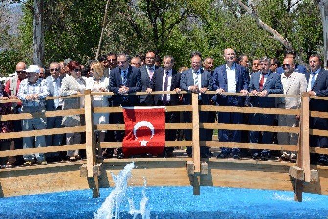 Bakan Soylu, Köyceğiz'de Kulak Mesire Alanının Açılışını Yaptı