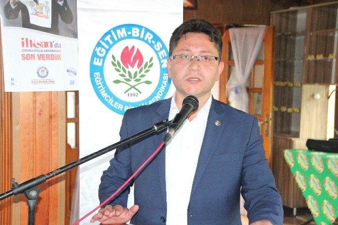 Eğitim-bir-sen Genel Başkan Yardımcısı Yalçınyayla Bilecik'te