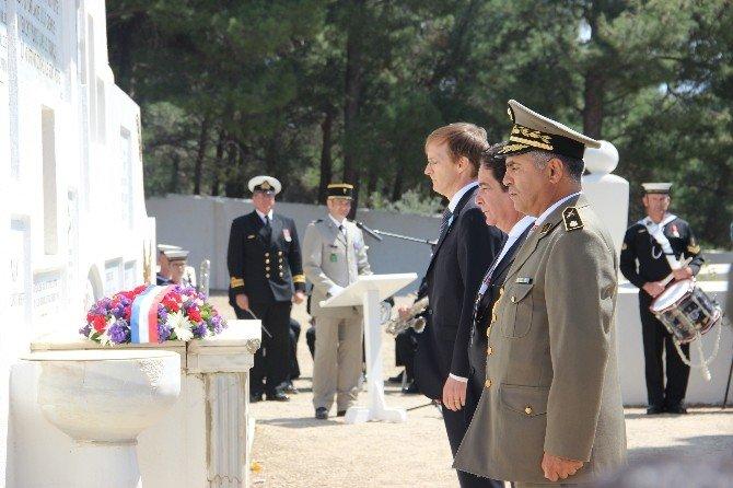 Çanakkale'deki Fransız Ve Helles Anıtlarında Anma Töreni