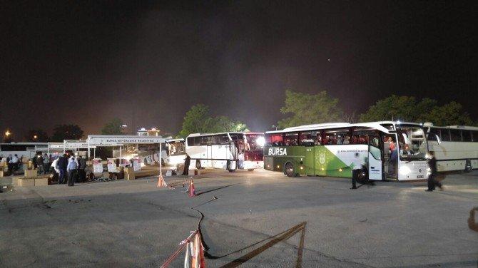 Çanakkale'ye 125 Otobüsle Bursa Çıkarması...