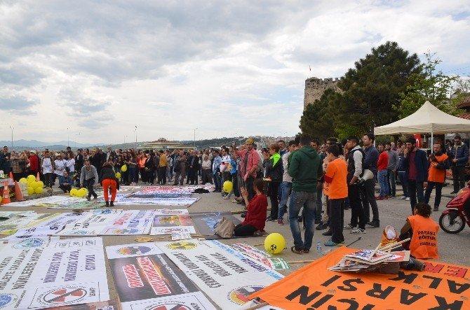 Sinop'ta Nükleer Karşıtı Miting