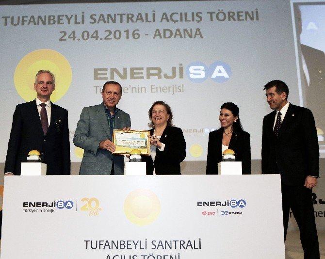 Cumhurbaşkanı Erdoğan, Tufanbeyli Linyit Santrali'nin Açılışını Yaptı