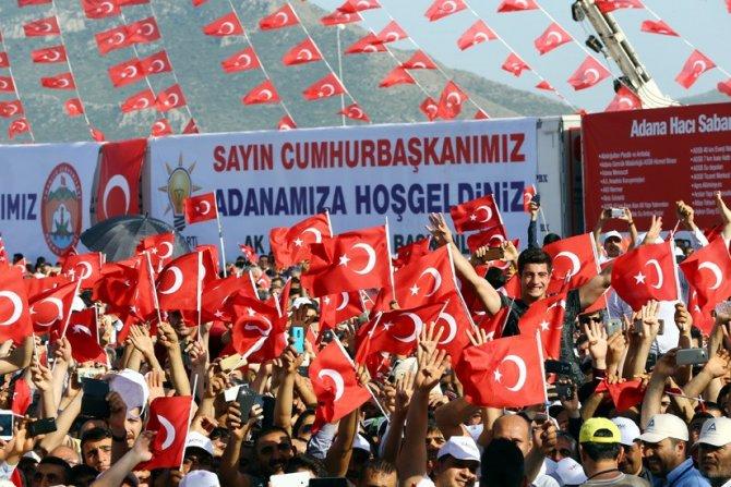 Erdoğan: Gerçek Türkiye; üreten, büyüyen ve her alanda tarih yazan Türkiye'dir