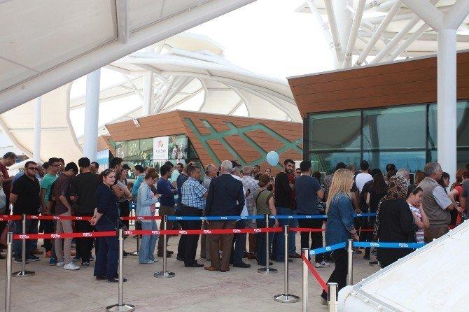 EXPO 2016 Antalya'yı İlk Gün 35 Bin 705 Kişi Ziyaret Etti