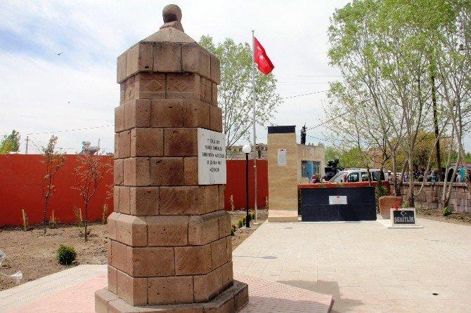 Iğdır'da 181 Şehidin Anıt Mezarı Törenle Açıldı