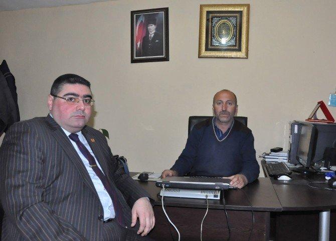 KKDGC Başkanı Daşdelen'den Ödül Alan İHA Muhabiri Çapanoğlu'na Tebrik Ziyareti