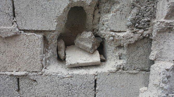 Duvarı Delerek Kuyumcuyu Soymak İsteyen Şahıs Yakalandı