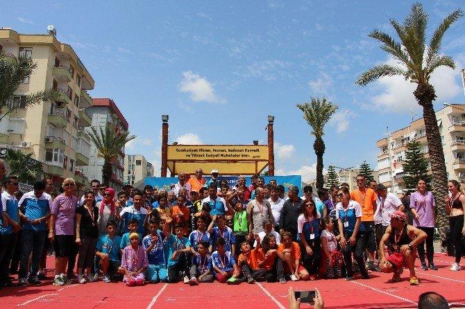 17. Tarım Ve Seracılık Festivali Halk Koşusu Gerçekleştirildi