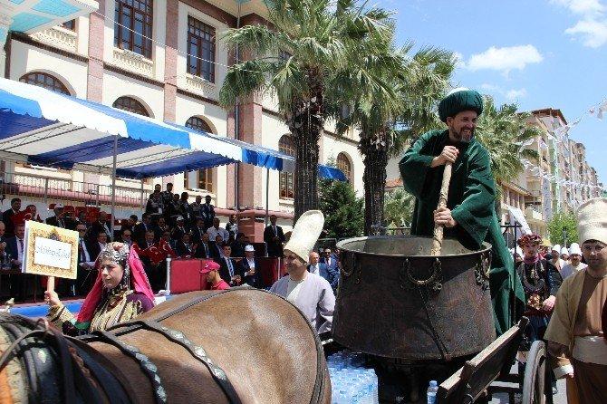 476. Mesir Saçım Töreni Kortej Yürüyüşüyle Başladı