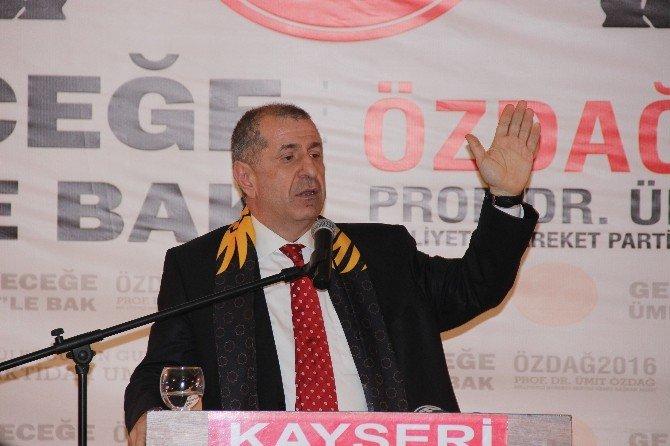 """Özdağ: """"Milli Kimliğimizi Tahrip Ettiler"""""""