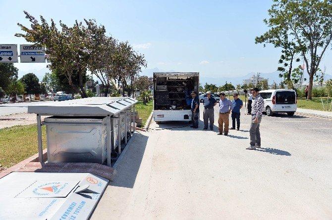 Yeraltı Çöp Konteynerlerine İlgi Yoğun