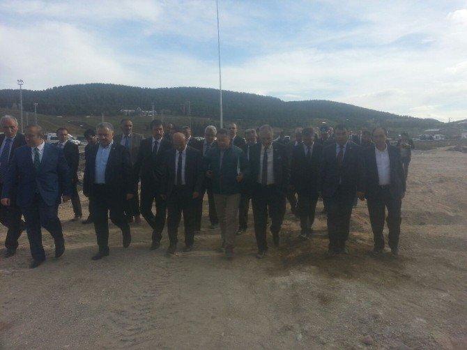 Orman Ve Su İşleri Bakan Yardımcısı Harun Tüfekci, Sarıkamış'ta İncelemelerde Bulundu