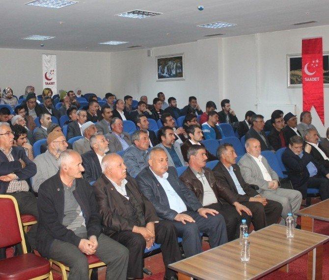 SP 9. Bölge Toplantısı Van'da Gerçekleştirildi