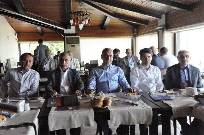 Sapanca Belediye Başkanı Aydın Yılmazer Basın Mensuplarıyla Bir Araya Geldi
