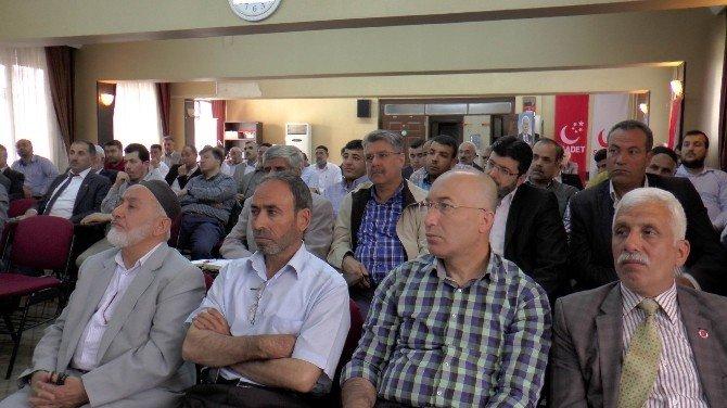 """SP Genel Başkan Yardımcısı Tongüç: """"Türkiye Avrupa Birliği'nin Kuyruğuna Yapışacak Bir Ülke Değildir"""""""