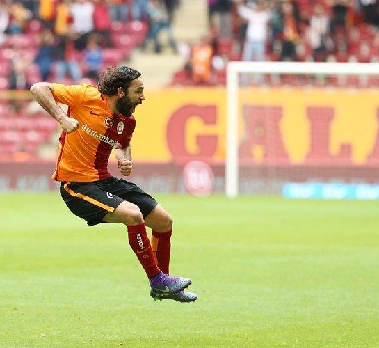 Galatasaray: 1 - Kasımpaşa: 1 (İlk yarı)