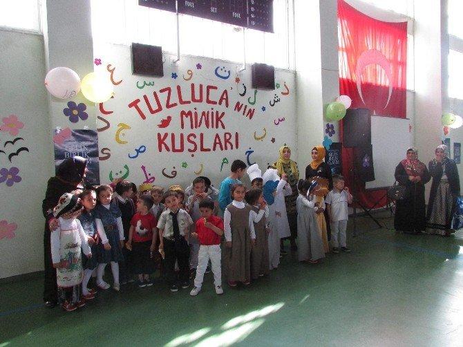 Tuzluca'nın Miniklerden Muhteşem Program