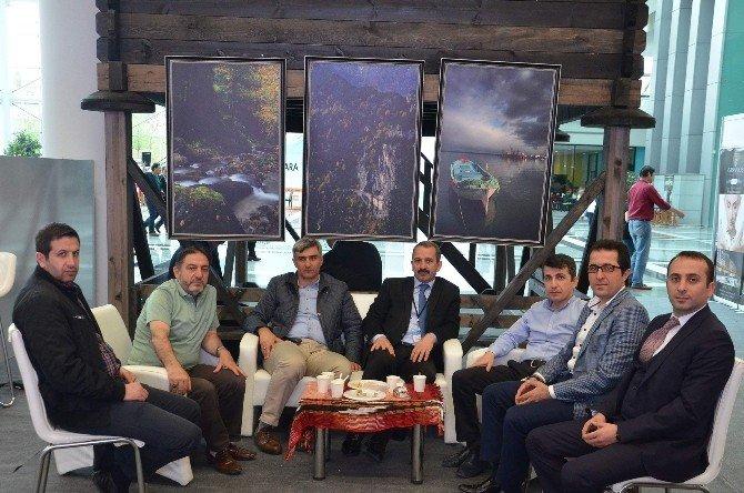Trabzon Büyükşehir Belediyesi Ankara'daki Fuarda Trabzon Turizmini Tanıtıyor