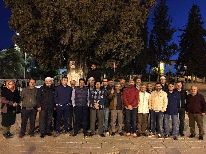 Trabzon'lu İş Adamları Mescid-i Aksa'yı Ziyaret Etti