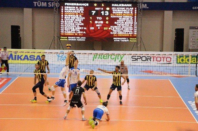 Erkekler Voleybol 1. Lig'de Şampiyon Halkbank
