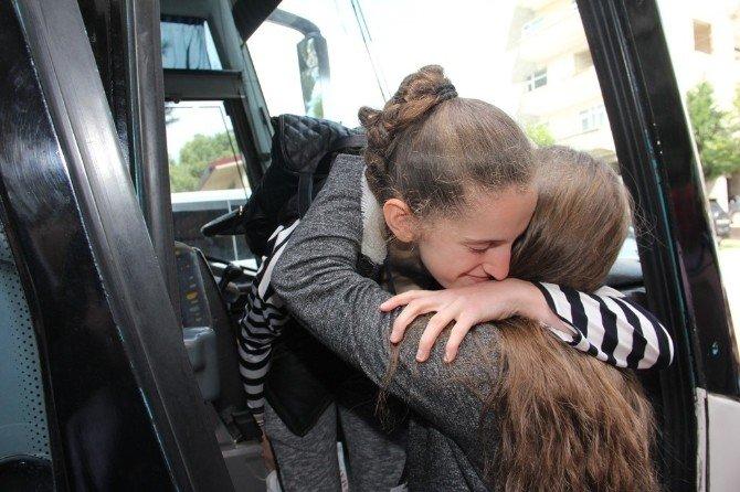 Yabancı Çocuklar Kocaeli'den Ayrılmaya Başladı