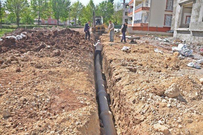Kanalizasyon Çalışmaları Devam Ediyor