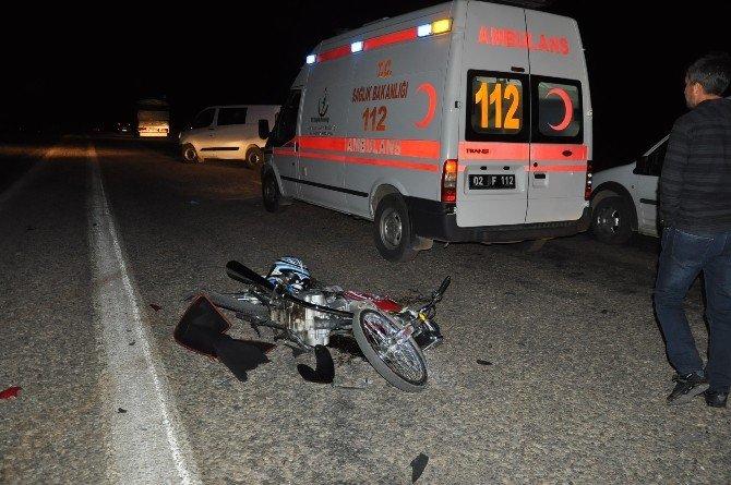 Kahta'da Trafik Kazası: 2 Yaralı