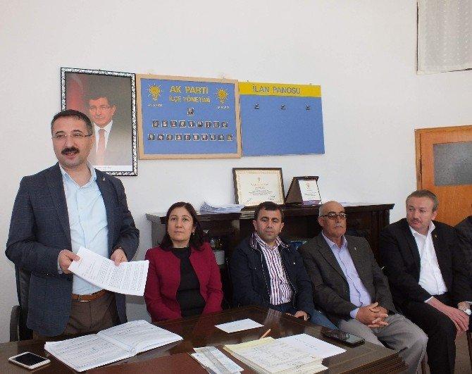 AK Parti Boğazkale İlçe Danışma Gerçekleştirildi