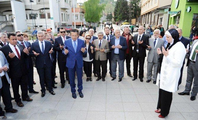 Altındağ Belediyesi'nden Visoko Çıkarması