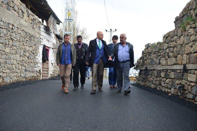 Yakutiye, Köy/mahallelerin Asfaltına Başladı